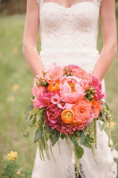 Ranunculus Bridal Wedding Bouquet