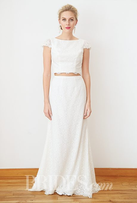 Midriff Baring Wedding Gowns
