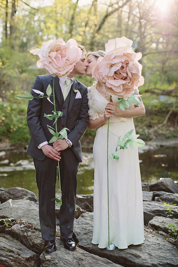 Bohemian Spring Wedding