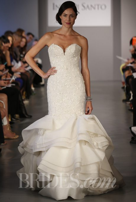 Wedding gowns with ruffles