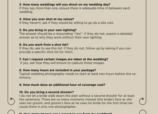 Wedding photography archives topweddingsites top questions you need to ask your wedding photographer junglespirit Gallery