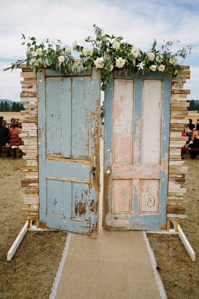 Wedding Floral Backdrop
