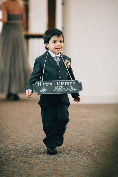 Incorporating Kids into the wedding day