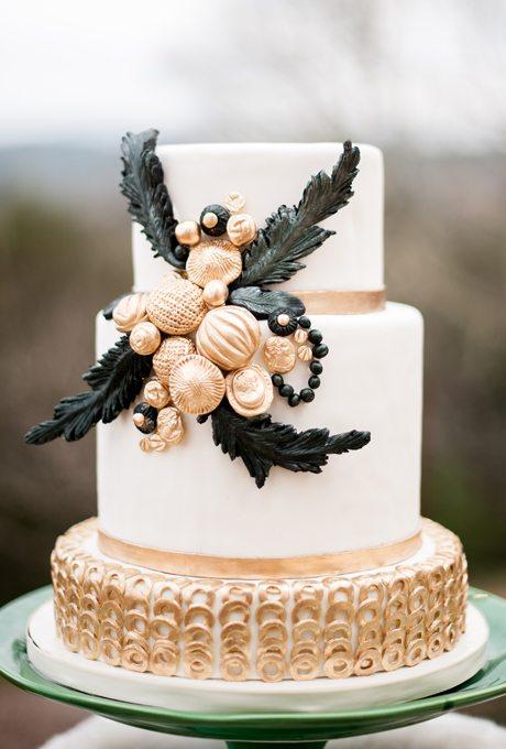 Metallic-Wedding-Cakes-Melanie-Duerkopp