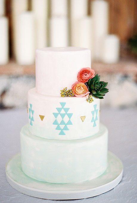 Spring-Wedding-Cakes-Lauren-Peele-Photography