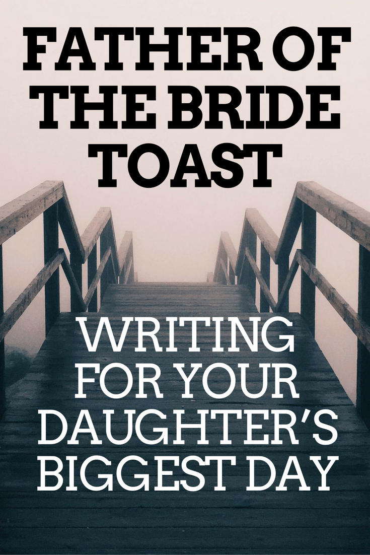 father of bride toast