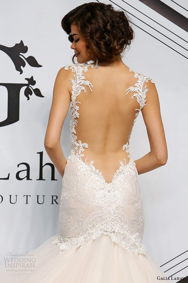 Sexy Wedding Gowns With Daringly Low Backs Topweddingsites Com