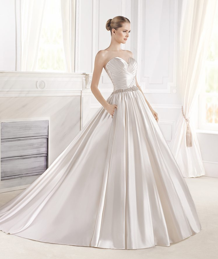 10 of Our Favorite Wedding Gowns from the La Sposa 2015 Glamour ...