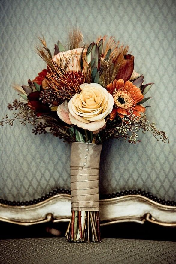 a guide to fall wedding flowers topweddingsites com
