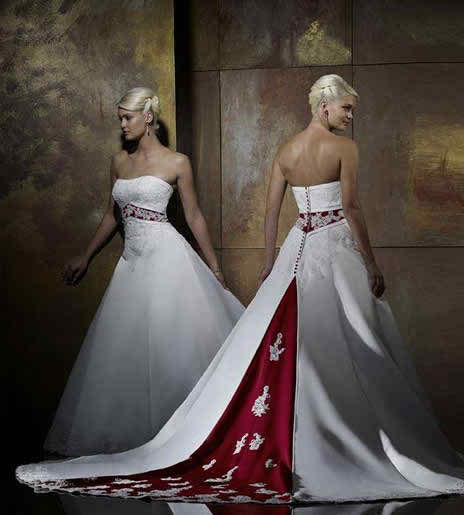 Forever Yours Colored Wedding Dresses Topweddingsites
