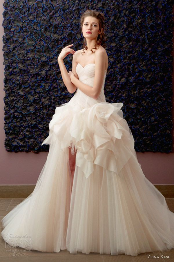 Chic, Modern-Classic Wedding Gowns | | TopWeddingSites.com