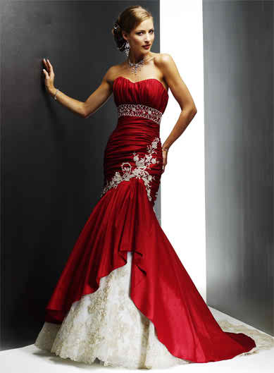 Red Maggie Sottero Wedding Dresses Topweddingsites Com
