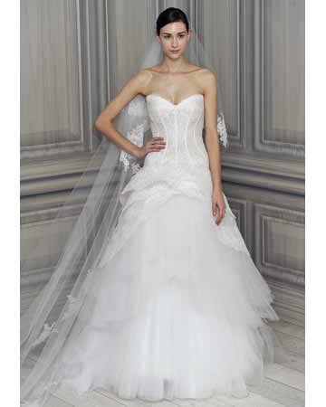 2012 designer wedding dress - Monique Lhuillier