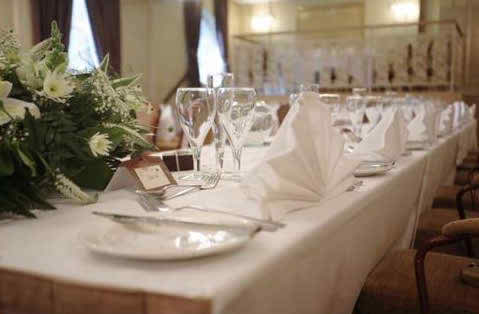 disasters to avoid at the wedding reception