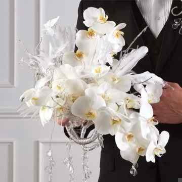 Original ideas for wedding flower arrangements