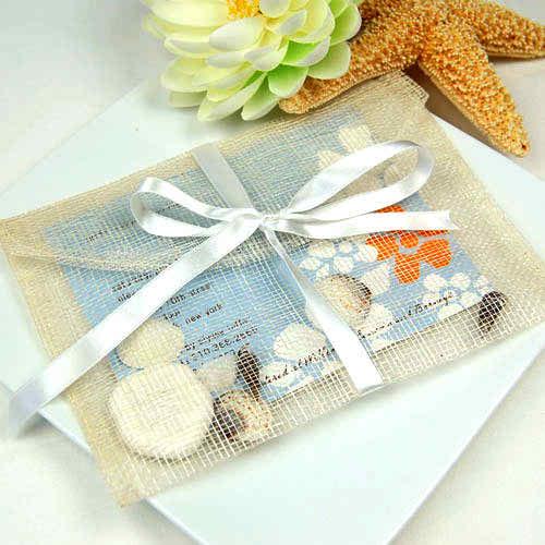 5 steps in having an eco friendly wedding - natural sinamay envelopes