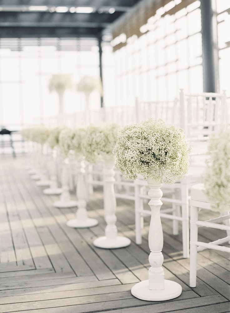White on White: Hot, All-White Weddings | | TopWeddingSites.com
