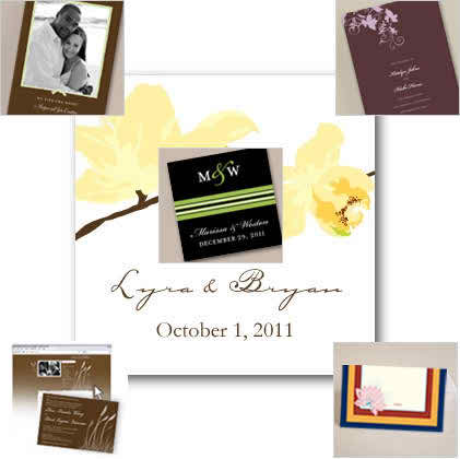 7 steps in customizing the wedding invitations