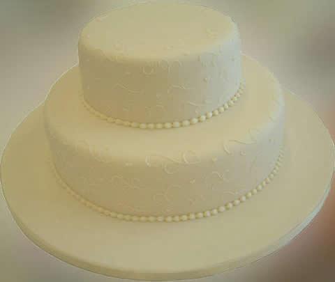 Tips as wedding cakes