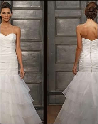 Bridal gown from the fall collection