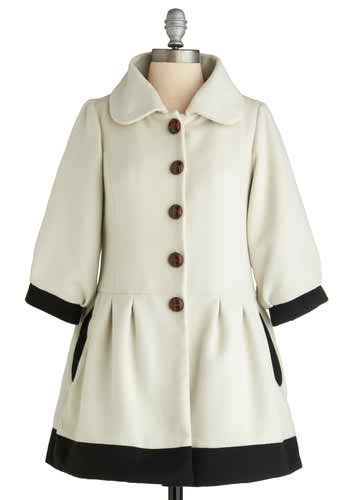 A button coat to match my winter apparel