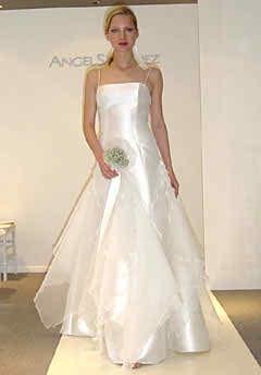 Informal wedding dress