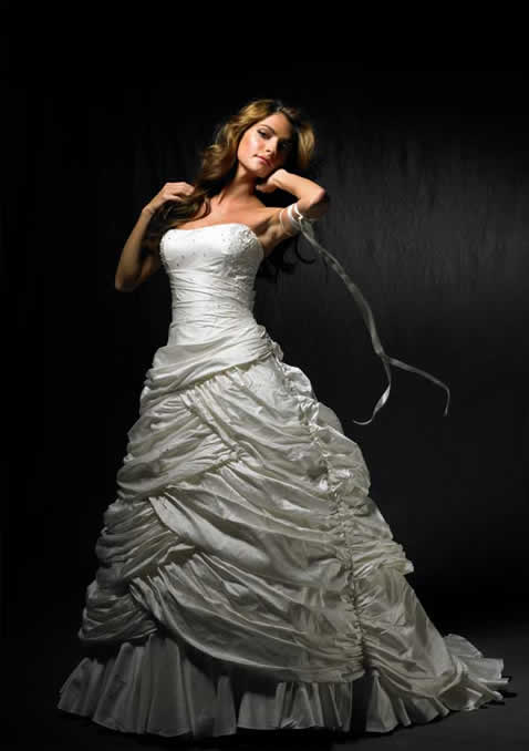 Angelina Faccenda wedding dress models 2