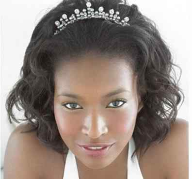 Bridal Hair Styles Ideas for African-American Brides