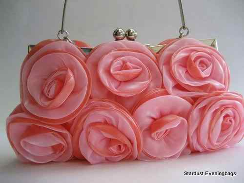 Bright handbags for bridesmaids