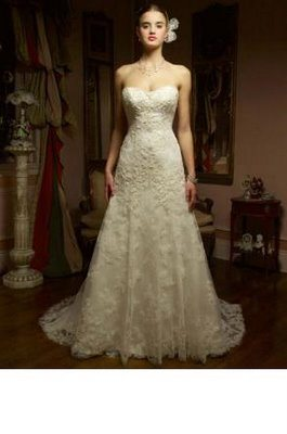 Casablanca strapless wedding dresses