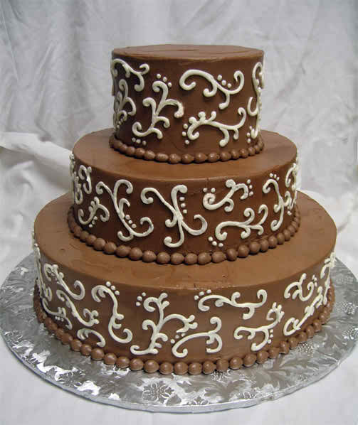 Chocolate Wedding Cake