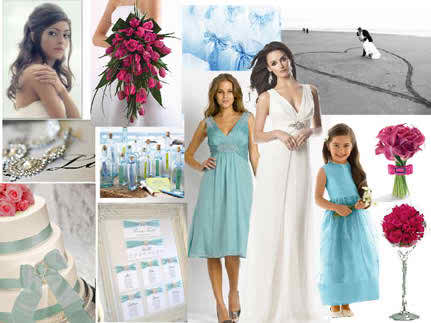 Colors and ideas for the bridal day