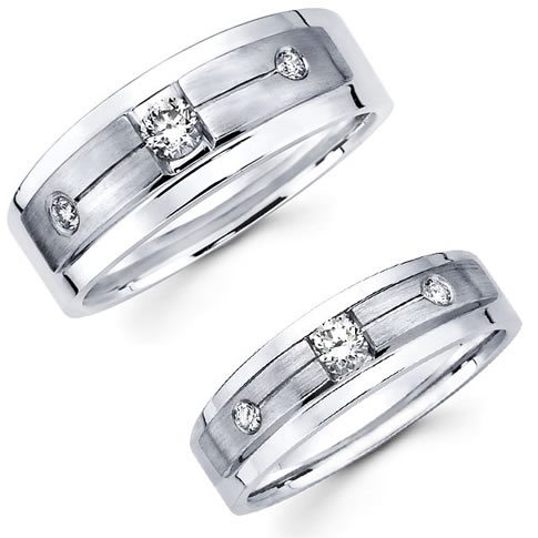 Diamonds for my wedding band