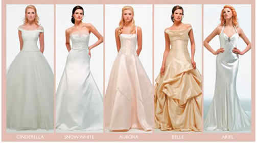 Disney wedding dresses 2