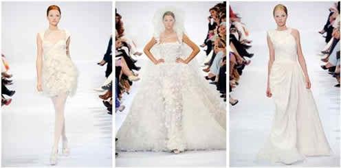 Elie Saab haute couture wedding dresses 2