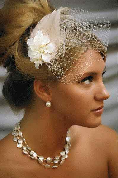Bridal hair jewellery