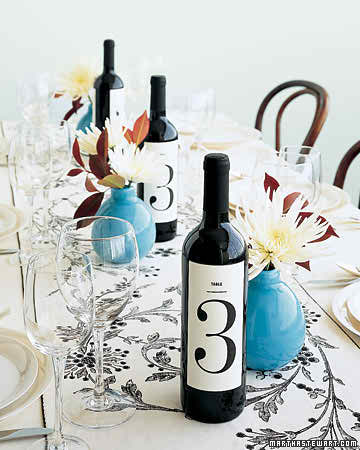 Find out which are the multi tasks of a wedding wine bottle