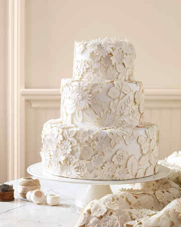 Formal and informal wedding cakes