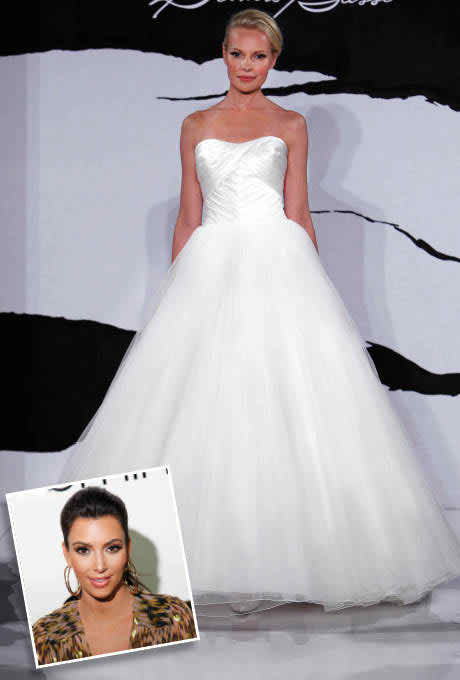 Get some inspiration from celebrity wedding gowns of 2011