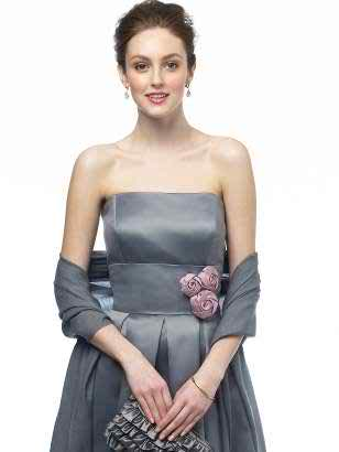 Go for some bridesmaid dresses with flowers