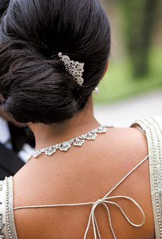 Have a Coco Chanel bridal hairstyle