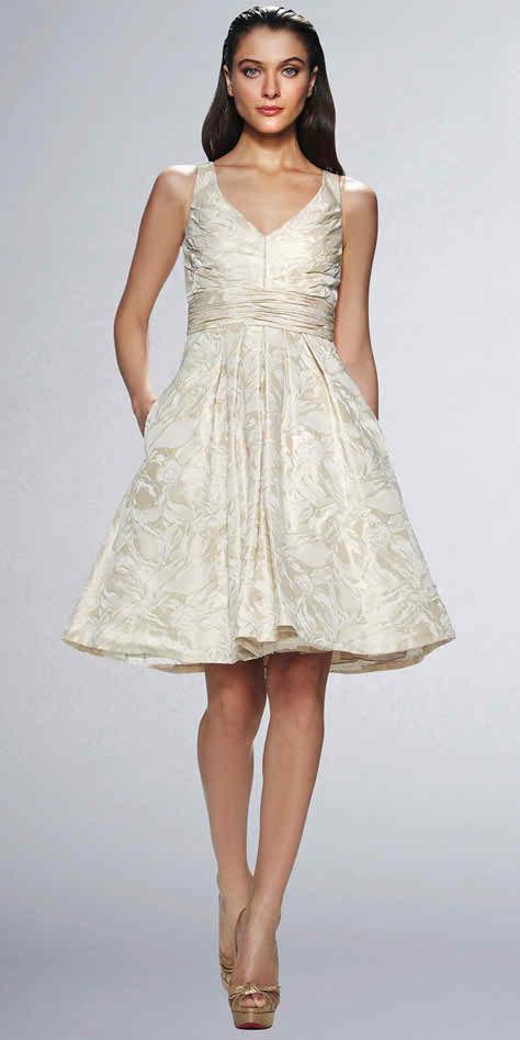 Help me, I'm a short bride - dress