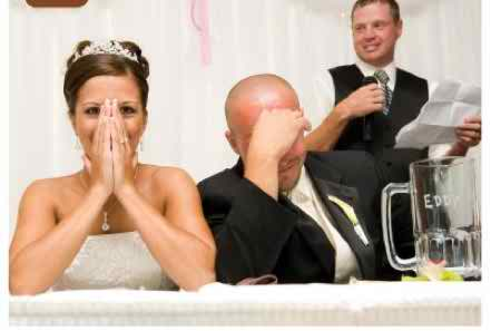 How should I deal with a missing MC at my wedding ceremony