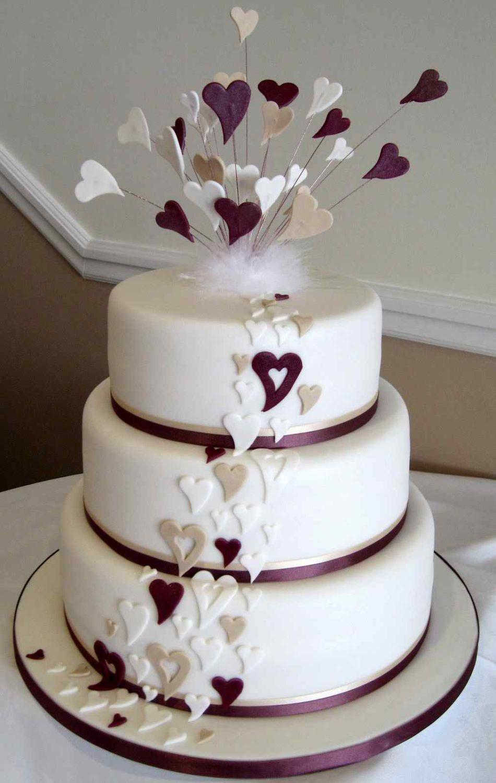 Ideas for Modern Wedding Cakes
