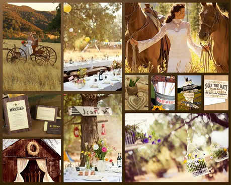 Ideas for Wedding Party Themes