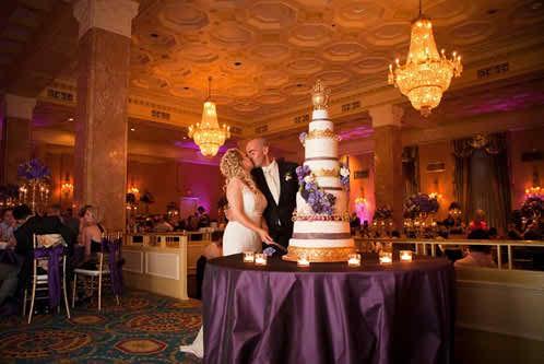Ideas for Wedding Reception Themes - The Glamour Theme