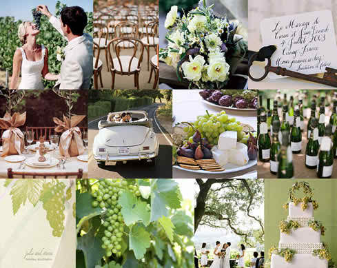 Ideas for Wedding Reception Themes - The Country Theme