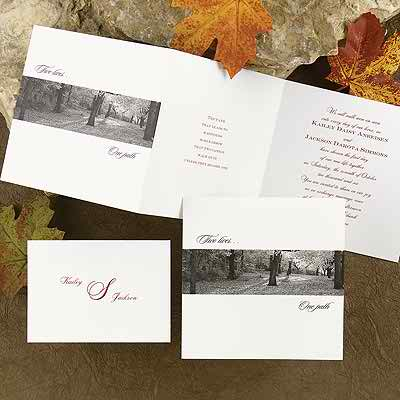 Ideas of autumn wedding invitations that you will simply love