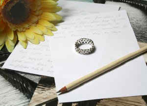 Ideas on how to write your ceremony wedding vows