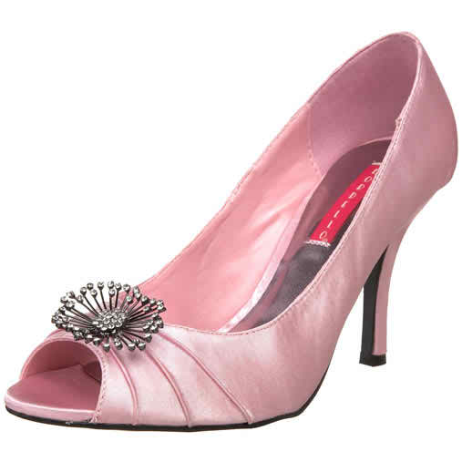 Improve your look with some pink wedding shoes